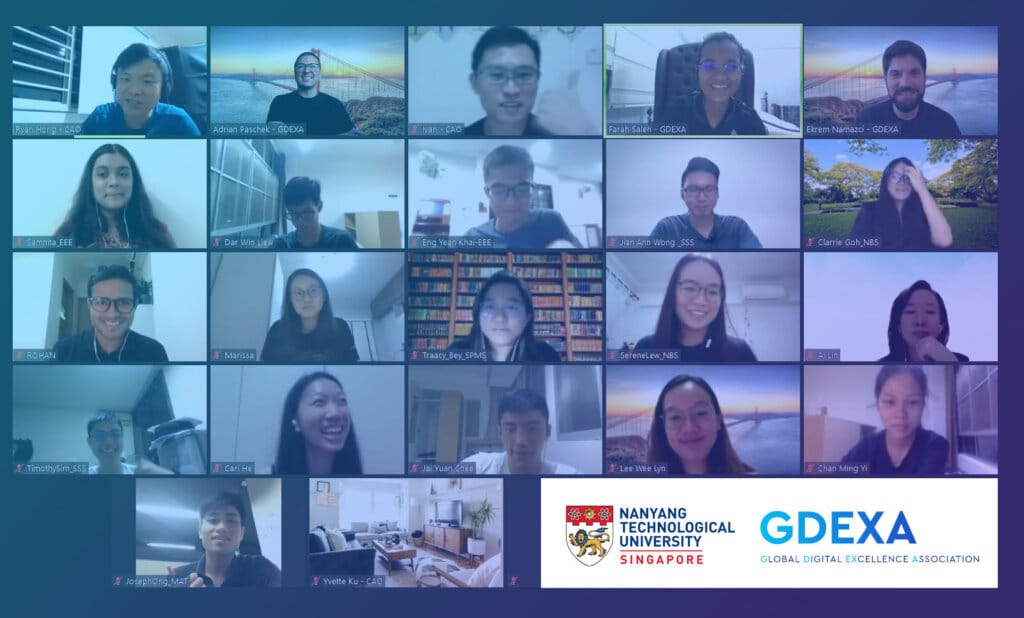 GDEXA x NTU Exclusive Global Mentorship Program enters the next round